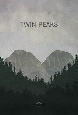 "012 Twin Peaks - Kyle MacLachlan Love Thriller USA TV Show 14""x20"" Poster"