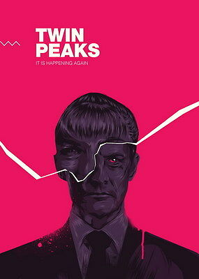 "018 Twin Peaks - Kyle MacLachlan Love Thriller USA TV Show 14""x19"" Poster"