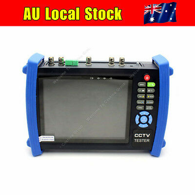 "7""CCTV Camera HD Monitor Video DVR Tester VGA+HD-SDI In/Out+TDR Test HVT-3600ST"