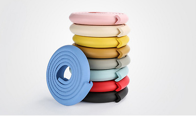 Baby Desk Table Edge Guard Protector Foam Strip Safety Cushion Bumper Cover