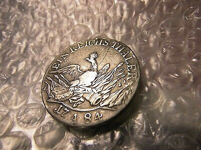 German States 1784-A Prussia Silver Thaler Coin