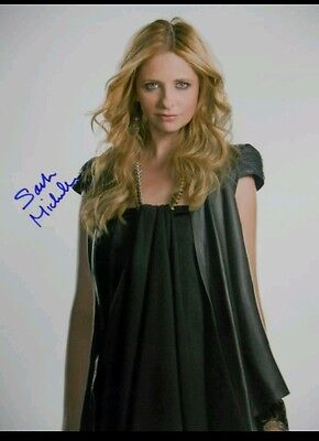 Sarah Michelle Gellar Hand Signed 8x10 Autograph COA Buffy the Vampire Slayer