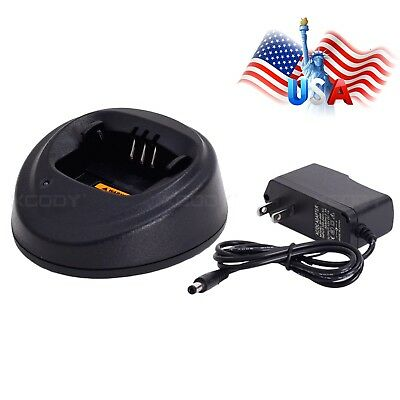 Quick 2-Way Radio Charger For Motorola EP450 CP040 CP150 CP200 PR400 GP3138
