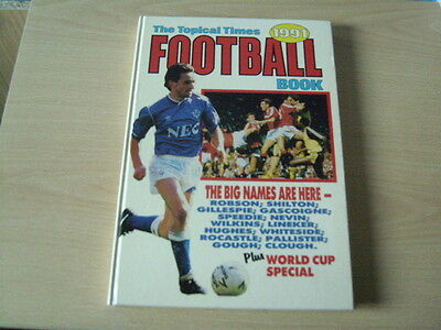 the topical times football book, 1991