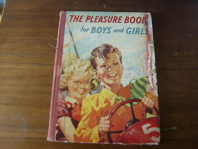 the pleasure book for boys and girls. 1950.