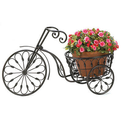 Metal Garden Planters, Outdoor Garden Planters Small Antique Bicycle Plant Stand