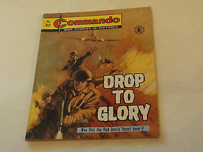 Commando War Comic Number 352,1968 Issue,super For Age,49 Years Old,very Rare.