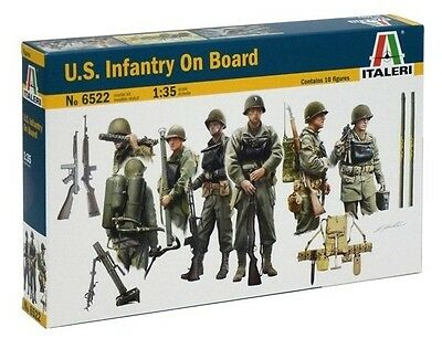 6522 U.S. Infantry on Board Italeri 1:35 plastic model kit