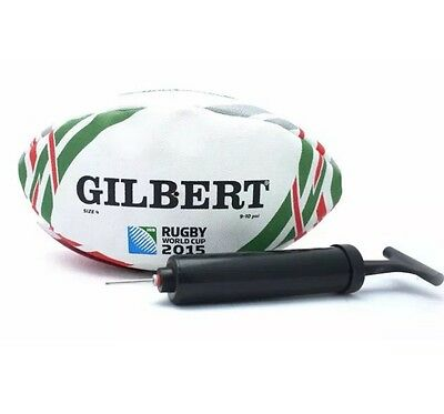Gilbert World Cup 2015 Rugby Ball + Pump Coca Cola LIMITED EDITION Collectable