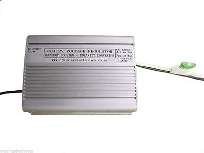 6 VOLT to 12 VOLT CONVERTER - BATTERY BOOSTER -  RUN 12V RADIO IN 6 V CAR CE412V