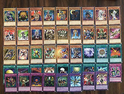 Yu-Gi-Oh Yugi Anime 40 Card Deck with Extra Deck Dark Magician