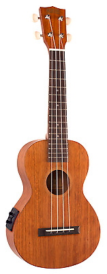 Mahalo Java Series Electric Concert Ukulele with Aquila String and Bag