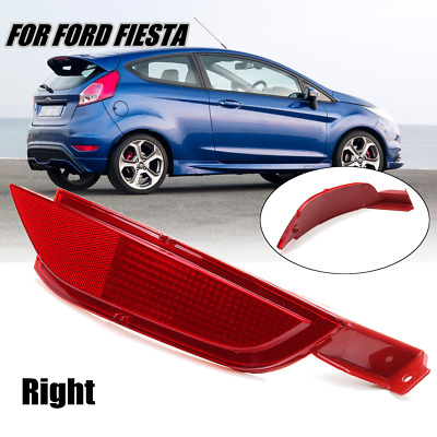 Rear Side Right Bumper Reflector Fog Light  Lamp Lens For Ford Fiesta Mk.7 08-12