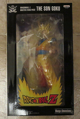 AUTHENTIC NEW Super Saiyan Goku MANGA COLOR Figure Master Stars Piece Dimensions
