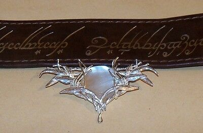 Lord of the Rings The Galadriel Brooch Sterling Silver .925