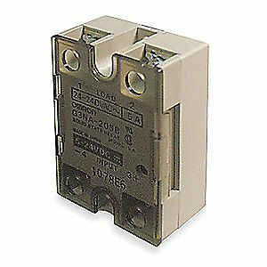 OMRON Solid State Relay,100 to 240VAC,50A, G3NA-650B-AC100-240
