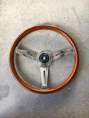 Genuine Nardi Classic Woodgrain Steering Wheel 365mm