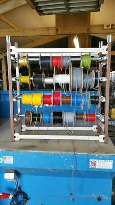 electric cable rack / wire storage