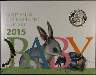 2015 Baby 6 coin Royal Australian Mint set.