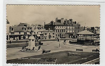 THE SQUARE, JOHNSTONE: Refrewshire postcard (C28302)