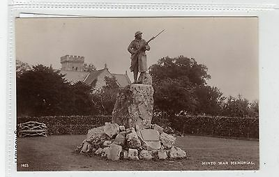 WAR MEMORIAL, MINTO: Roxburghshire postcard (C28013)