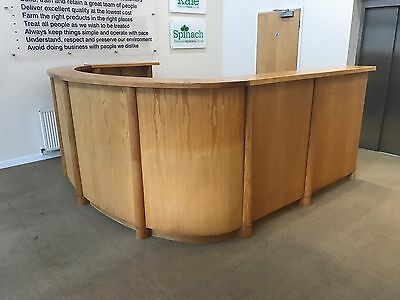 Office Reception Desk  or   Bar in man cave (Price dropped)
