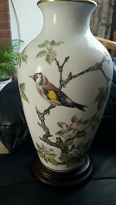 Franklin mint woodland birds