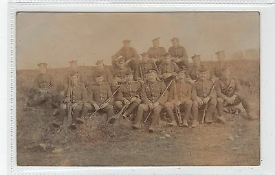 LANARKSHIRE YEOMANRY AT BEAULY: Inverness-shire postcard (C28317)