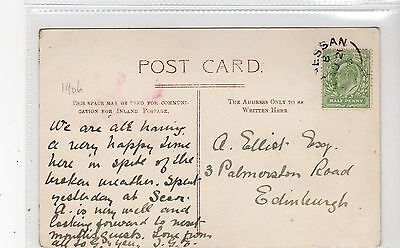 Picture postcard with BUNNESSAN [Isle of Mull] postmark (C28070)