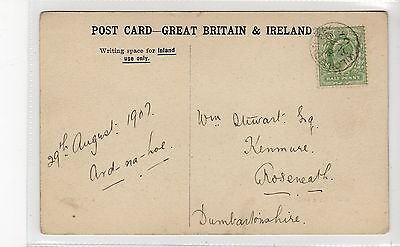 Picture postcard with KILCHATTAN BAY [Isle of Bute] postmark (C28071)