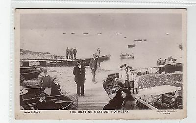 THE BOATING STATION, ROTHESAY: Isle of Bute postcard (C28088)