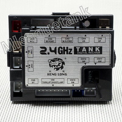 Heng Long 2.4GHZ Multi Function 5.3 New Version Receiver Board For 1:16 RC Tank