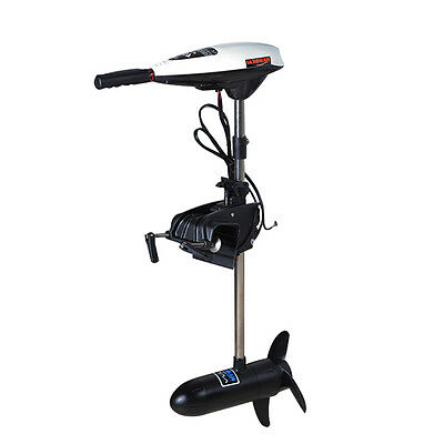 45LBS 12V Electric Outboard Brush Tugged Motor Inflatable Fishing Boat Engine UK