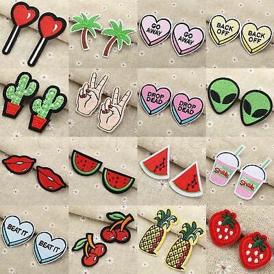 Cute Craft Embroidered Sew On / Iron On Patches Badge Bag Dress Fabric Applique