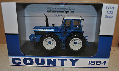 1:32 Uh County 1884 4Wd Tractor, Ltd.ed.1000 , Mib , New , Britains Scale
