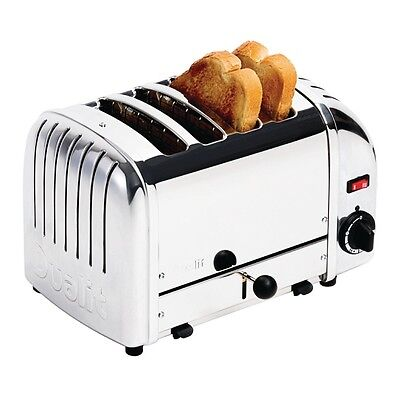 Dualit Bread Toaster 4 Slice Stainless 40352 EBF209-B