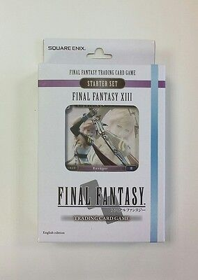 Final Fantasy 8 Trading Card Game Starter Set - XIII