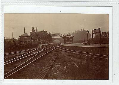 Photograph of Stanley Railway Station, Perthshire (C28546)