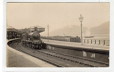 RAILWAY STATION, FORT WILLIAM: Inverness-shire postcard (C28330)