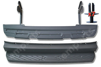 Mercedes Sprinter Rear Back Metal Step Plus Plastic Cover 2006 Onward With Plugs
