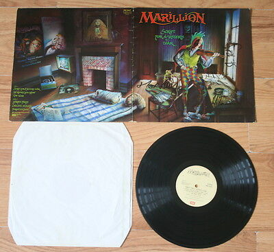 Marillion Collectable Lp Script For A Jesters Tear Rare Early Signed Autographed