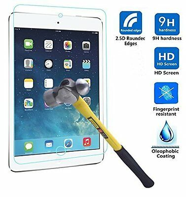 """New Genuine Premium Tempered Glass Screen Protector For Apple New iPad 9.7"""" 2017"""