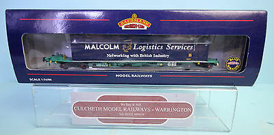 Bachmann 'oo' Gauge 37-304 Intermodal Bogie Wagon With Containers New Boxed