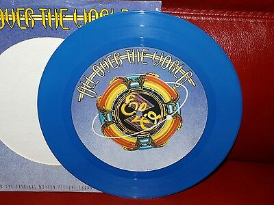 ELO Collectable 10 inch Blue Vinyl - All Over The World