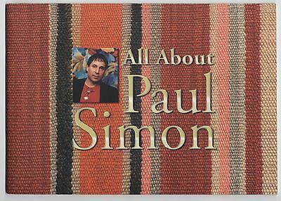 Paul Simon - All About Paul Simon JAPAN PROMO BOOKLET Published in 2000