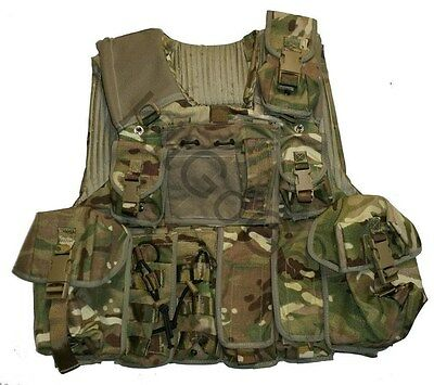 British Army MTP Osprey Body Armour Vest + 12 Pouches 180/104 MOLLE