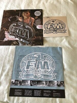 FM Tough It Out LP - Limited Edition Sticker Inside - Signed