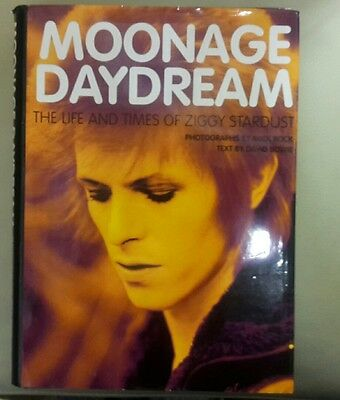 Moonage Daydream: The Life and Times of Ziggy Stardust by David Bowie hardback