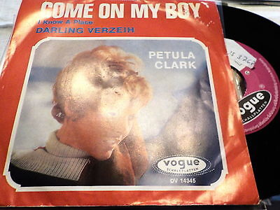 "7""  *60's* PETULA CLARK - Come On My Baby & Darling verzeih' *near mint"