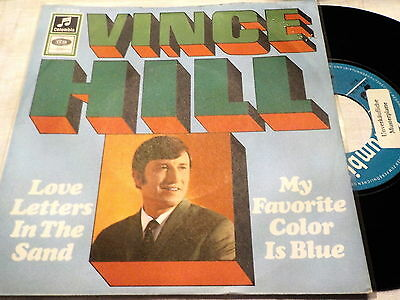 "7""  *60's* VINCE HILL - Love Letters In The Sand *near mint MUSTER/PROMO"